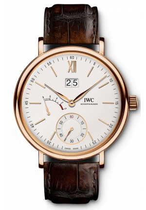 IWC Portofino Silver Dial 18kt Rose Gold Men's Watch IW516102 45mm