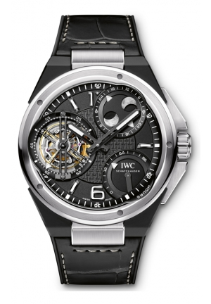 IWC Ingenieur Constant-Force Tourbillon Platinum Mens Watch IW590001 46mm