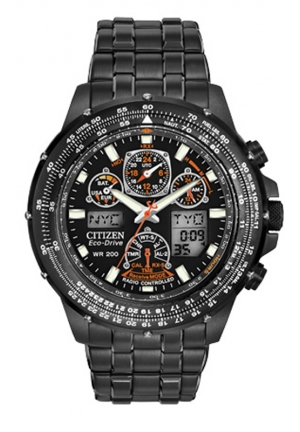"Citizen Men's ""Eco-Drive Skyhawk A-T"" Stainless Steel Watch"