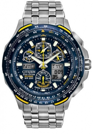 Citizen Blue Angels Skyhawk A-T Men's Titanium Watch 45mm