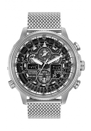 Citizen Men's Navihawk A-T Watch with Stainless Steel Mesh Band