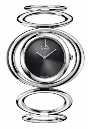 CALVIN KLEIN Women's Swiss Graceful Stainless Steel Link Bracelet 30mm