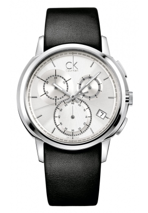 CALVIN KLEIN CK Drive Chronograph Mens Watch 40mm