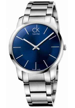 CALVIN KLEIN Men's Swiss City Stainless Steel Bracelet 43mm