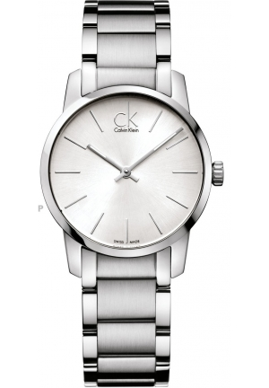 CALVIN KLEIN Women's Swiss City Stainless Steel Bracelet 43mm