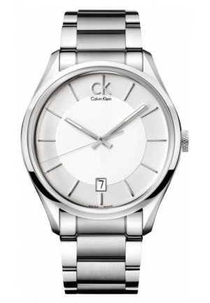CALVIN KLEIN Men's Swiss Stainless Steel Bracelet 42mm