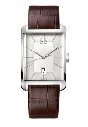 CALVIN KLEIN MEN'S WINDOW WATCH