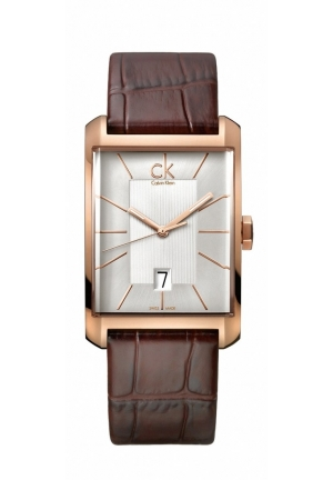 CALVIN KLEIN WOMEN'S WINDOW WATCH