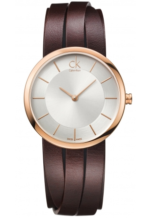 Calvin Klein  Extent Ladies Watch Brown Medium