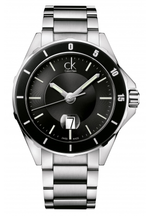 CALVIN KLEIN Men's Swiss Play Stainless Steel Bracelet 45mm