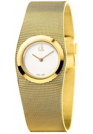 Calvin Klein  Impulsive Gold-Tone Ladies Watch K3T23526