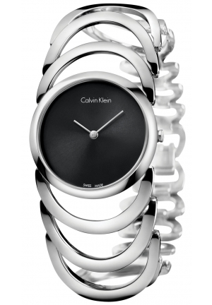 CALVIN KLEIN Women's Swiss Body Stainless Steel Bracelet Watch 30mm