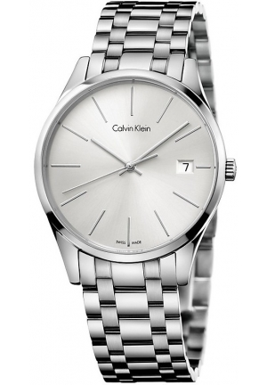 Calvin Klein Ladies Time Silver Watch