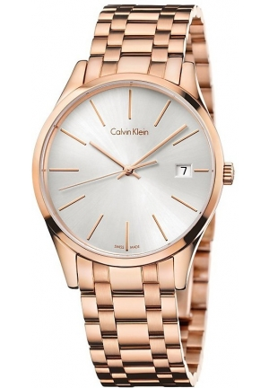 Calvin Klein Time Rose Gold Ladies Watch