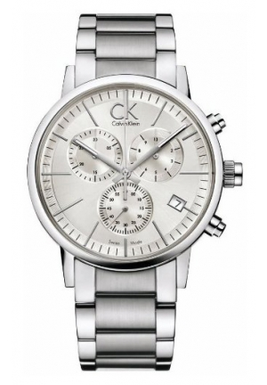 CALVIN KLEIN SILVER SILVER WATCH 40mm