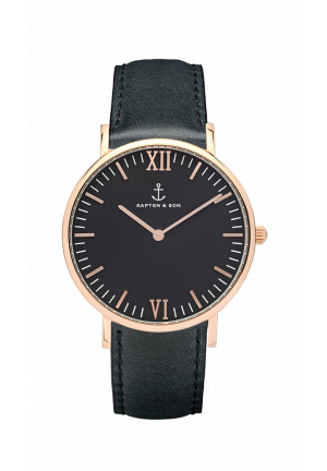 kapten and son campina all black 21522
