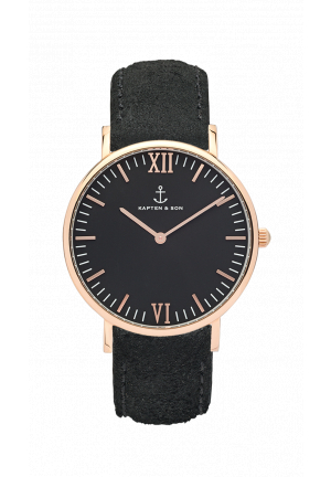 kapten and son campina all black vintage 21546