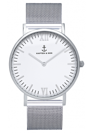 kapten and son campus silver mesh 14913