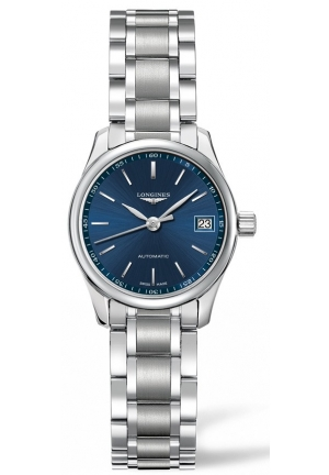 THE LONGINES MASTER COLLECTION 25MM BLUE DIAL AUTOMATIC L21284926, 25MM