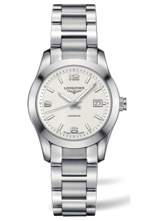 LONGINES Conquest Classic Automatic Silver Dial Stainless Steel Ladies Watch L2.285.4.76.6