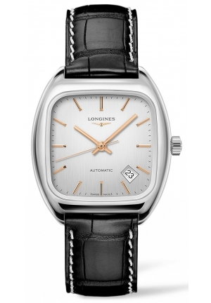 THE LONGINES HERITAGE 1969 36MM AUTOMATIC L23104720, 36X36MM
