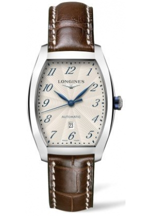 LONGINES EVIDENZA STAINLESS STEEL AUTOMATIC L23424514, 30.50 X 35.60 MM