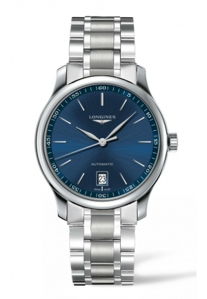 THE LONGINES MASTER COLLECTION 38MM BLUE DIAL AUTOMATIC L26284926, 38MM