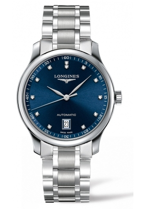 THE LONGINES MASTER COLLECTION 38MM BLUE DIAL AUTOMATIC L26284976, 38MM