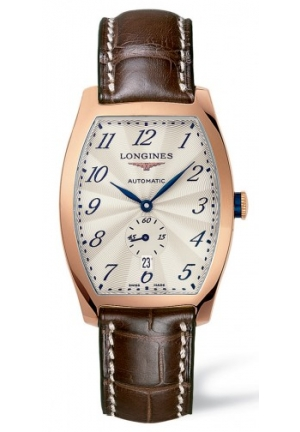 LONGINES EVIDENZA GOLD 18K AUTOMATIC LADIES WATCH L26428734, 33.10 X 38.75 MM