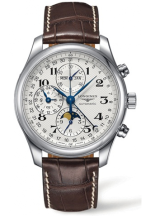 THE LONGINES MASTER COLLECTION CHRONOGRAPH WITH MOON PHASE MEN'S WATCH , L2.773.4.78.3  42MM