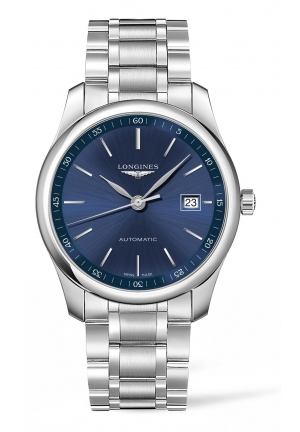 THE LONGINES MASTER COLLECTION 40MM BLUE DIAL AUTOMATIC L27934926, 40MM