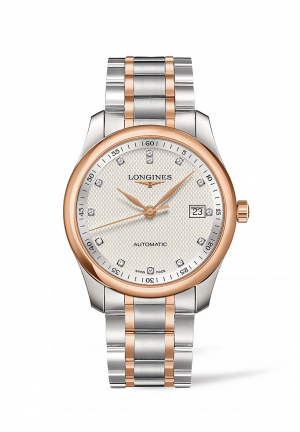 THE LONGINES MASTER COLLECTION 40MM STAINLESS STEEL/GOLD CAP 200 AUTOMATIC
