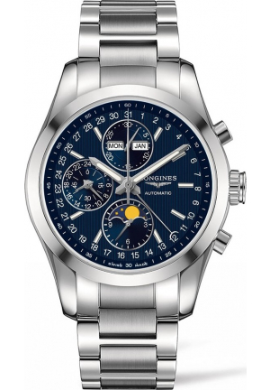 LONGINES L2.798.4.96.6 CONQUEST CLASSIC WATCH 42MM
