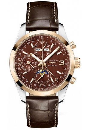 Longines Conquest Classic Chronograph Moonphase 42mm L2.798.5.62.3