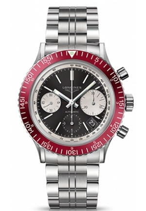 THE LONGINES HERITAGE DIVER 1967 42MM CHRONOGRAPH L28084526, 42MM