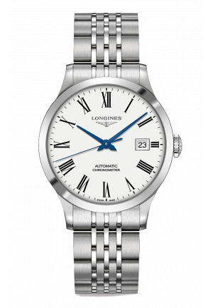 LONGINES RECORD L28214116, 38MM