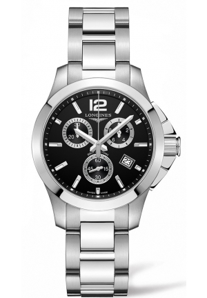 CONQUEST CHRONOGRAPH L33794566, 36MM