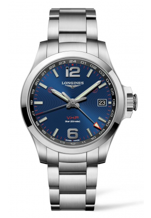 LONGINES CONQUEST V.H.P. GMT, 41MM