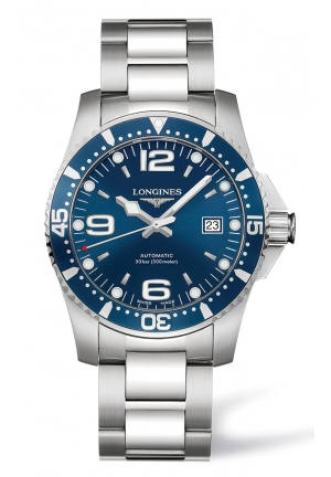 HYDROCONQUEST 41MM AUTOMATIC DIVING WATCH L37424966, 41MM