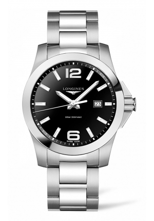 LONGINES CONQUEST STAINLESS STEEL L37604566, 43MM