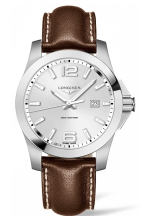 CONQUEST STAINLESS STEEL L37604765, 43MM
