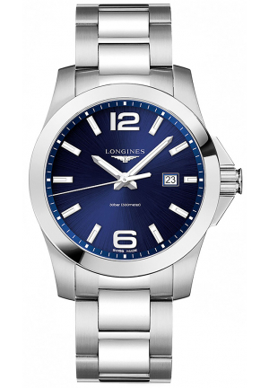 LONGINES CONQUEST STAINLESS STEEL L37604966, 43MM