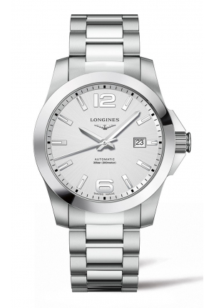 LONGINES CONQUEST STAINLESS STEEL L37774766, 41MM