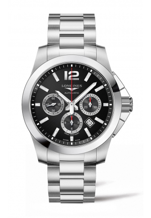 LONGINES CONQUEST CHRONOGRAPH L38014566, 44MM