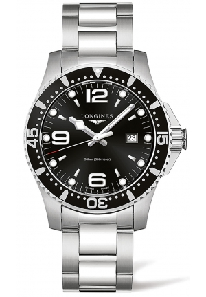 HYDROCONQUEST DIVING WATCH L38404566, 44MM