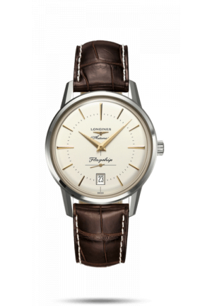 Longines Flagship Heritage 39mm Automatic Leather