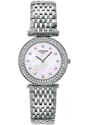 LONGINES La Grande Classique Mother of Pearl Dial Stainless Steel Ladies Watch L43080876, 29mm