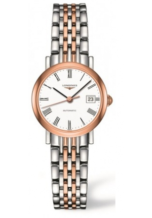 ELEGANT STAINLESS STEEL/GOLD CAP 200 AUTOMATIC L43095117, 25MM