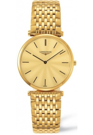 LONGINES La Grande Classique 18kt Gold-plated Mens Watch L47092428, 33mm
