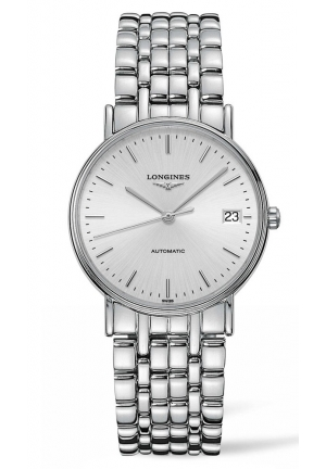 Longines Presence Automatic Stainless Steel Ladies Watch L48214726,35mm